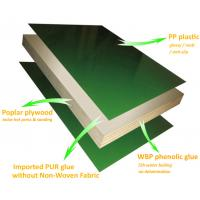 Quality WPC Plyform plastic plywood frame formwork system reusable for concrete forming for sale
