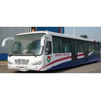 China Durable Low Carbon Alloy Steel Body Nice Airport Shuttle Bus With Thermal King AC System on sale