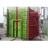 Quality Adjustable Wall Steel Formwork System Panel Strut , Flexible Concrete Formwork Secure for sale