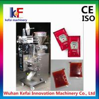 China Manufacturing automatic tomato paste sachet packing machine price ketchup packing machine on sale