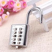 Quality Mini push button Code zinc alloy Combination lock 10 pin Sports Locker for sale