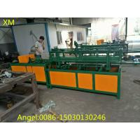 Buy 2m-4m width Double wire feeding Fully Automatic Chain Link Fence  Machine at wholesale prices