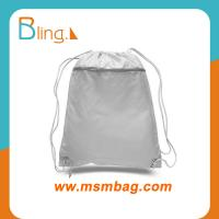 China MSM poly fabric holiday gift drawstring backpack bag on sale