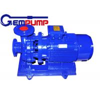 Quality Low speed Inline Water Booster Pump ISW Horizontal Pipe ≤ 1.6Mpa Maximum working pressure for sale