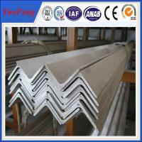Quality 6063 v slot aluminum profile / l shaped aluminum extrusion manufacturer / aluminum l angle for sale