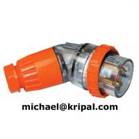 Quality IP66 Angled industrial plug for sale