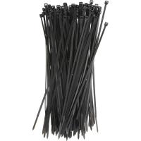 Plastic Tie Straps Releasable Nylon Cable Ties 200mm For Bunching Electric Cables