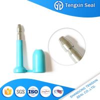 TX-BS403 China oil seals shipping container red/white/yellow/blue markable security locks bolt seal for sale