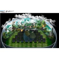 Quality 4D theater with ball screen, arc screen installed arc screen or ball screen for sale