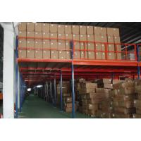 Quality High Utilization Metal Workshop Industrial Mezzanine Floors Steel Q235B  For Cold Room for sale
