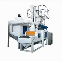 China Wire Mesh Belt Shot Blasting Machine Pass Through Type For Casting Surface on sale