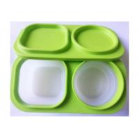 Quality Soft Feeling Silicone Lunch Containers BoxLightweight 3000 Times' Using Lifelong for sale