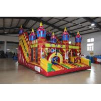 Quality Inflatable Mickey Disney Castle Slide for sale