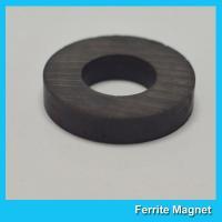 China Ceramic Ferrite Ring Magnet For Subwoofer Speaker 150mm x 100mm x 25mm for sale