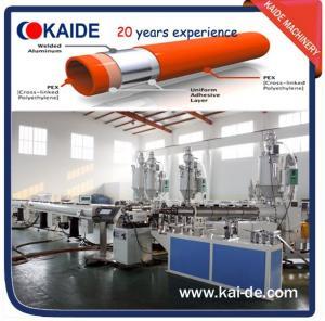China Overlap welding PEX-AL-PEX/PE-AL-PE Composite Pipe Extrusion Machine on sale