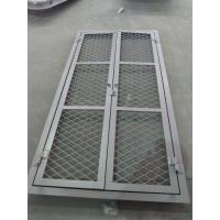 Buy Double Opening Square Angle Marine Wire Mesh Door 8 mm Thickness at wholesale prices