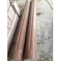 China Capao Bonito Granite Column,Crown Red Granite Roman Column,Maple Leaf Red Granite for sale
