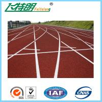 Quality Spray Coat System Running Track Flooring All Weather Tracks Recycled for sale