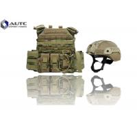 Quality Individual Lightweight Body Armor , Full Body Bulletproof Armor Camouflage Color for sale