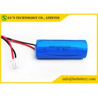 China 3.6V 4000mAh Lithium Primary Battery / Li SoCl2 Lithium Battery Size A ER18505 on sale