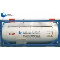 Quality 1 , 1-Difluoroethane colorless , ISO Tank R152A AC Refrigerant SGS / ROSH for sale