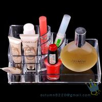 Quality acrylic cosmetic display organizer for sale