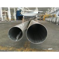 Quality Big Mill Finshed 6800Ton Press Extrude Machine Aluminium Round Tube 600mm Diameter for sale