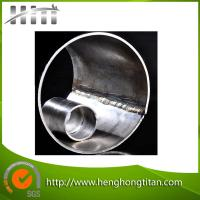 China HHT High Quality Gr2 Welded Titanium Tubes for Heat Exchangers for sale