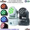 Buy cheap 7pcs 10w RGBW Mini led moving head wash light from wholesalers