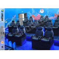 Buy Entertainment Motion Leather Theater Chairs For Big XD Theater With Eletronic System at wholesale prices