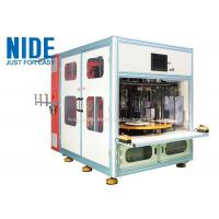 Quality Automatic 4 working stations stator coil winding machine for Submersible generator for sale