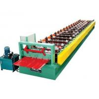 Quality Hydraulic Cutting Roof and Wall Panel Roll Forming Machines For 45#, 70mm Steel for sale