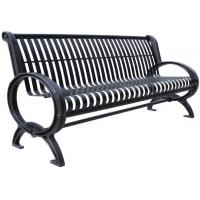 Quality Customized Stainless Steel Outdoor Bench Metal Garden Furniture Corrosion Resistant for sale