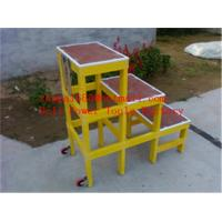 Quality A-shape fiberglass insulated ladders&hot selling ladder for sale
