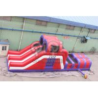 Quality Double Lane Rock Extreme Challenge Obstacle for sale