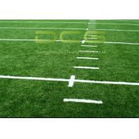 Quality High Density Premium Soccer Field Carpet / Fake Grass Soccer Field UV Resistant for sale