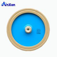 Quality AnXon CCG81 25KV 1500PF 125KVA Power Disc Ceramic Capacitor for Antenna Communication for sale