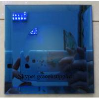 Buy cheap customed size fine edge polished toughed glass / decorative glass sheet from wholesalers