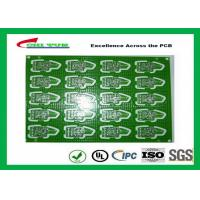 Buy 2 Layer PCB Board Immersion gold + plating gold fingers Blue solder mask at wholesale prices
