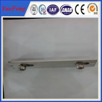 Quality 6063-T5 customized Aluminum solar panel mounting rail/bracket/accessories for sale