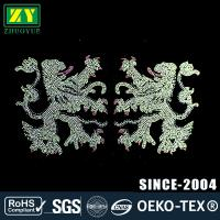 Buy cheap Wear Resistant Hot Fix Rhinestone Motif With Heat Rhinestone Transfer Technics from wholesalers