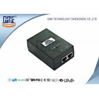 Buy AC DC Power Over Ethernet Poe Adapter 48V 0.5A 50000 Hours MTBF at wholesale prices