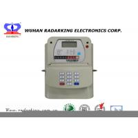 Quality High Accuracy Small Gas Meter , Easy Handle STS Keypad Prepaid House Gas Meter for sale