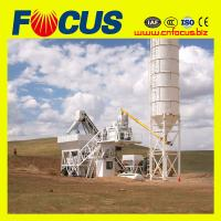 China YHZS50 50 m3 / h Mobile Concrete Mixing Plants from factory on sale