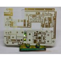 Quality High Frequency PCB circuits board Rogers RO4003C with Immersion gold and Quick turn pcb(PCBA) prototype Service for sale