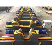 Quality Lead Screw Adjustment Welding Turning Rolls / Self Aligning Welding Rotator for sale