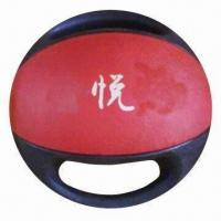 Quality Gym ball, made of rubber surface for sale