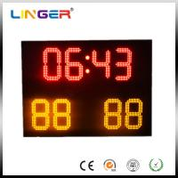 Quality Small Ultrathin Full Color Electronic Soccer Scoreboard With Wireless Control for sale