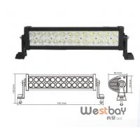 Quality 72W ip67 Offroad Super Bright LED working Light Bar for ATV 4x4 Jeep for sale