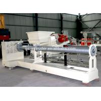 Quality Plastic Recycling Pellet Machine , Single Screw Extruder Recycling Granulator Machine for sale